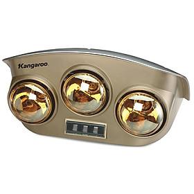 Đèn Sưởi Phòng Tắm Kangaroo KG251 - 3 Bóng - Hàng chính hãng