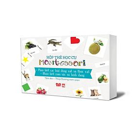 [Download Sách] Hộp Thẻ Học Cụ Montessori: Khám Phá Thế Giới Tự Nhiên - Nhận Biết Màu Sắc Và Hình Dạng