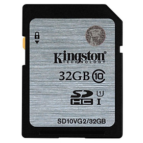 Thẻ Nhớ Kingston 32GB SDHC Class 10 UHS-I (up to 80MB/s)