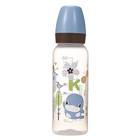 Bình Sữa Nhựa PP Cổ Nhỏ KuKu KU5928A (240ml) - Xanh