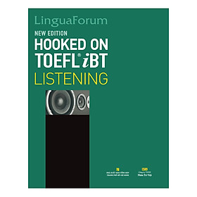 LinguaForum Hooked On TOEFL iBT Listening (New Edition) (With An MP3 And A CD-ROM)