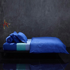 Vỏ Chăn Mền Cao Cấp Lotus Monaco Vista Blue DC-178-LI-C-M01 (178 x 228 cm)