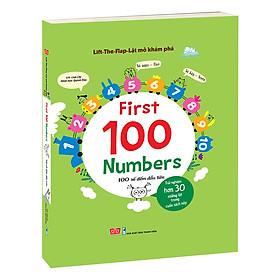 Sách Tương Tác - Lift-The-Flap - Lật Mở Khám Phá: First 100 Numbers - 100 Số Đếm Đầu Tiên
