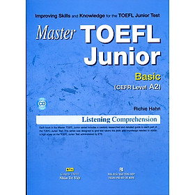 Master TOEFL Junior (Kèm CD)