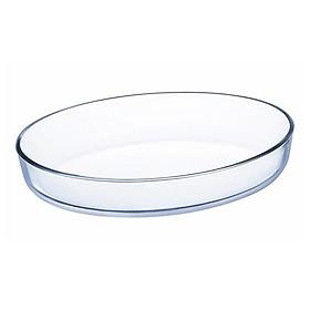 Khay Nướng Thủy Tinh Luminarc Hình Oval J1339 (35x27 cm)