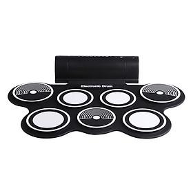 Bộ Trống Điện Tử Konix Portable Digital Drum MD759 (Hỗ Trợ Kết Nối Máy Tính)