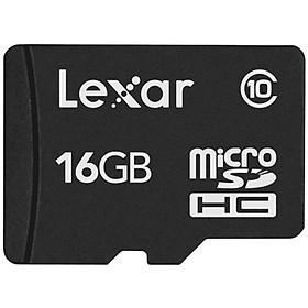 Thẻ Nhớ MicroSD Lexar 16GB Class 10 - Hàng Chính Hãng