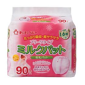 Miếng Lót Thấm Sữa ChuChu Baby - 90 Miếng