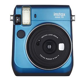 Máy Ảnh Selfie Lấy Liền Fujifilm Instax Mini 70  - Xanh - Hàng Chính Hãng