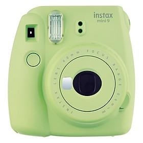 Máy Ảnh Selfie Lấy Liền Fujifilm Instax Mini 9 - Lime Green - Hàng Chính Hãng