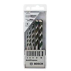 Bộ 5 Mũi Khoan Đa Dụng Bosch 4,5,6,8,10
