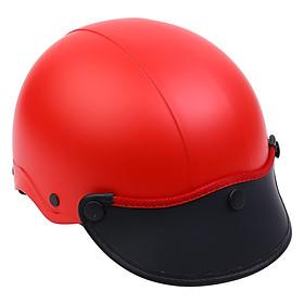 Mũ Bảo Hiểm 1/2 Đầu Napoli NS-N088-RED - Đỏ