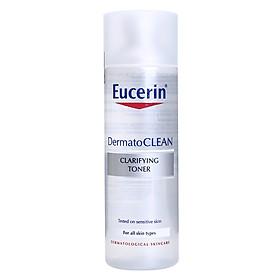 Nước Hoa Hồng Da Nhạy Cảm Eucerin Dermato Clean (200ml)