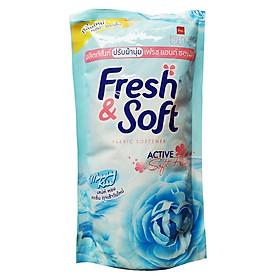 Nước Xả Vải Fresh Soft Bịch 600ml - Xanh