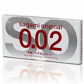 Bao Cao Su Sagami Original 0.02 - Hộp/2 chiếc