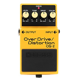 Phơ Guitar Boss Digital Overdrive/Distortion OS-2 (Bàn Đạp Fuzz Pedals Effects)