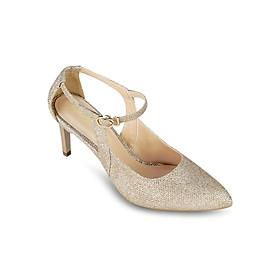 Giày Sandals Cao Gót 7cm Đính Kim Tuyến Up & Go P07-467-GOL - Vàng