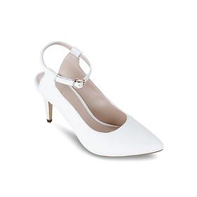 Giày Sandals Cao Gót 7cm Up & Go P07-468-WHI - Trắng