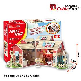 Mô Hình Giấy Cubic Fun: Sweet Villa [P615h]