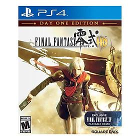 Đĩa Game Sony PS4 Final Fantasy Type-0 HD