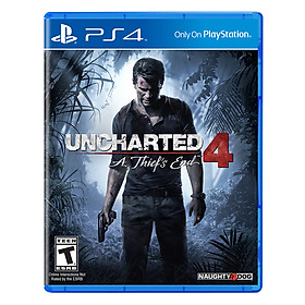 Đĩa Game Sony PS4 Uncharted 4 A Thiefs End