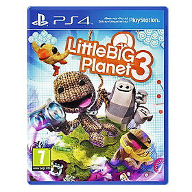 Đĩa Game PS4 - LittleBigPlanet™ 3 - Gaming - PCAS00012