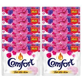 Dây 10 Bịch Comfort Đậm Đặc 1 Lần Xả Tinh Dầu Thơm Diệu Kỳ - 20ml