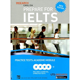 Prepare For Ielts Academic Practice Tests (Kèm 4 CD) - Khổ Lớn