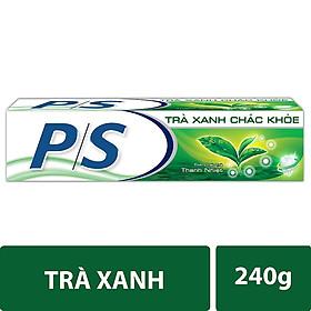 Combo 3 Kem Đánh Răng P/S Trà Xanh 240g + 3 Bàn Chải Đánh Răng P/S Lông Tơ Mềm Mại