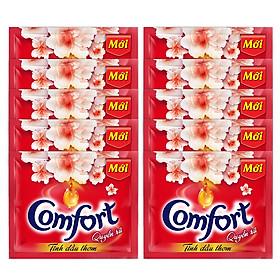 Dây 10 Bịch Comfort Đậm Đặc 1 Lần Xả Tinh Dầu Thơm Quyến Rũ - 20ml