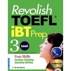 Revolish TOEFL iBT Prep 3 - Kèm 2 CD
