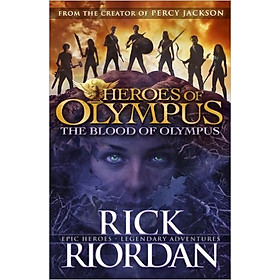 The Blood Of Olympus: Heroes Of Olympus Book 5 (Paperback)