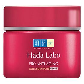 Kem Dưỡng Chuyên Biệt Chống Lão Hóa Hada Labo Pro Anti Aging Collagen Plus Cream (50g)