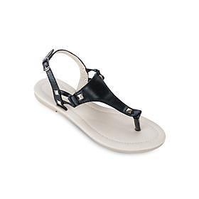Giày Sandals Xỏ Ngón Up & Go S02-493-BLA - Đen