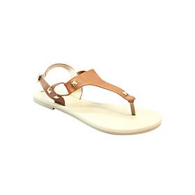 Giày Sandals Xỏ Ngón Up & Go S02-493-BRO - Nâu
