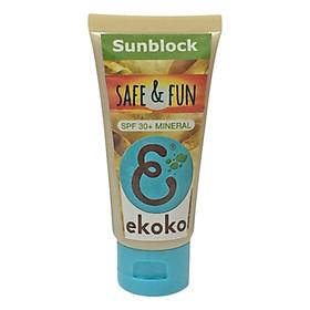 Kem Chống Nắng Ekoko Safe And Fun Sunblock (40g)