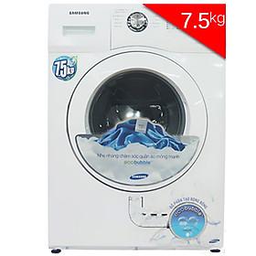 Máy Giặt Cửa Ngang Samsung WF750W2BCWQ/SV (7.5Kg) - Trắng - Hàng Chính Hãng