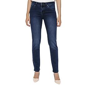 Quần Jeans AAA Jeans Ống Đứng Dài Trơn Xanh Tối Midnight SLSVT_MN