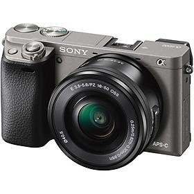 Máy Ảnh Sony Alpha A6000 + 16-50mm - Xám - Hàng chính hãng