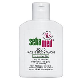 Sữa Rửa Mặt Và Body Cho Da Nhạy Cảm Sebamed Liquid Face & Body Wash - SSS01C - 200ml