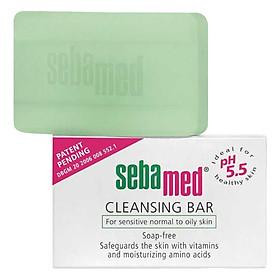 Xà Phòng Kháng Khuẩn pH5.5 Sebamed Cleansing Bar pH5.5 SSS05 (100g)
