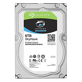 Ổ Cứng HDD Video Seagate SkyHawk 6TB/128MB/3.5 - ST6000VX0023 - Hàng Chính Hãng