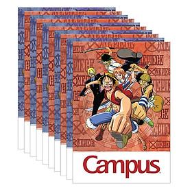 Lốc 10 Cuốn Vở Kẻ Ngang Campus One Piece NB-BOPE120 (120 Trang)