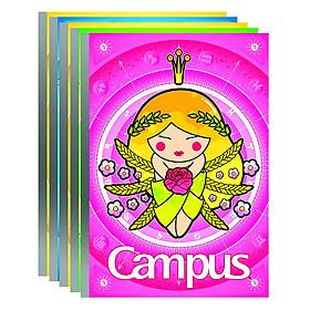 Lốc 5 Cuốn Vở Kẻ Ngang Campus Smart NB-BSMA120 (120 Trang)