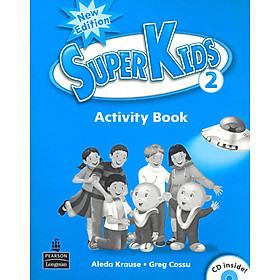 Superkids NE Activity Book 2 with CD