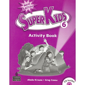 Superkids NE Activity Book 6 with CD