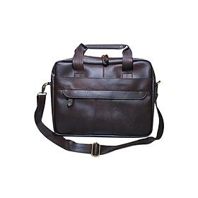 Cặp Công Sở One Bags T01-3 (45 x 7 x 30 cm) - Nâu Cà Phê