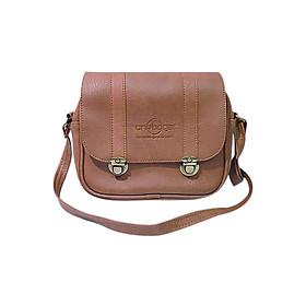 Túi Đeo Chéo One Bags T04-01 (26 x 6 x 24 cm) – Nâu Bò Đỏ