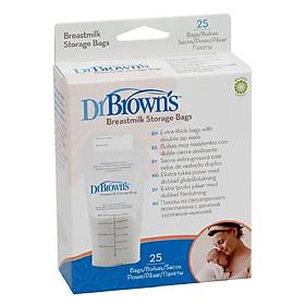 Túi Trữ Sữa Mẹ Dr.Brown's 25 Túi -  S4005H