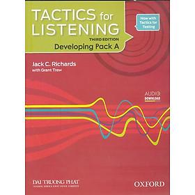 Tactics For Listening Developing Pack A (Sách Học Sinh + Đĩa CD)